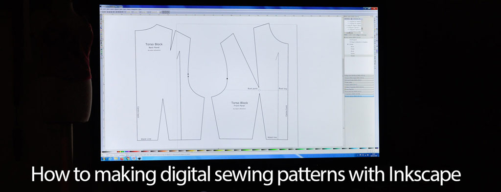 Inkscape Digital Sewing Patterns