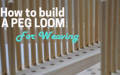 Build your own Peg Loom